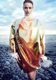 "Stef Van Der Laan in ""April Skyes"" Photographed By Benjamin Vnuk &Styled By Oscar Lange For Scandinavia SSAW #8, Spring 2014"