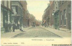 Wageningen Hoogstraat ca. 1910. via Plaatsengids NL Wageningen