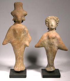 Kushan Fertility Figures — Indus Valley  100 BC - 200 AD