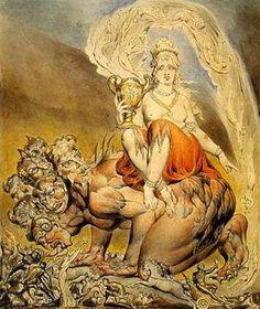 La prostituée, par William Blake
