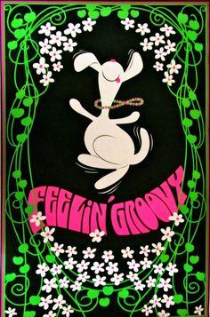 Feeling Groovy (1969)  Art by Gilbert Williams