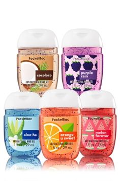 Tropic Boost - 5-Pack PocketBac Sanitizers - Bath & Body Works - Think tropical with 5 fun PocketBacs! Our skin-softening formula kills 99.9% of germs, while the pocket-friendly design makes it easy to keep hands clean & conditioned when you're on-the-go.