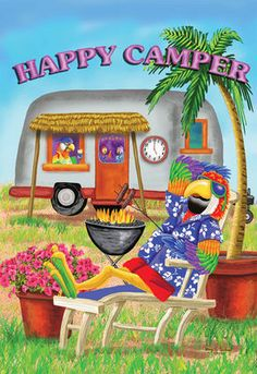 Happy Camper... That's Me..