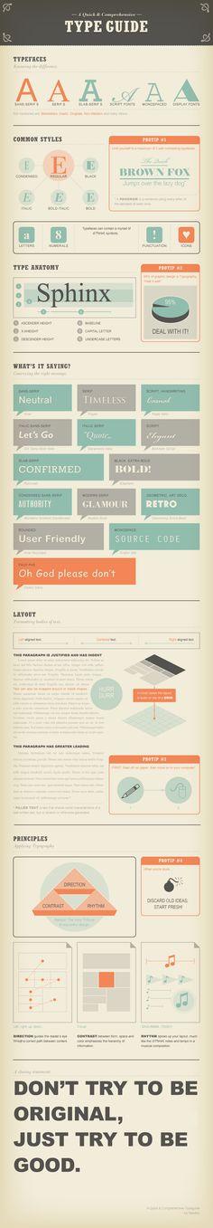 """""""Infographic ที่ช่วยให้คุณรู้จักตัวอักษรมากขึ้น"""""""