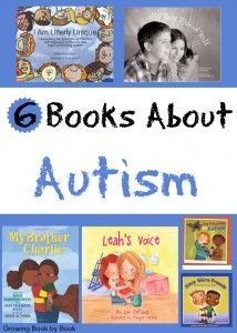 children's books about Autism recommended by growingbookbybook.com