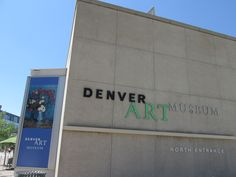 just had to go to Denver Art Museum