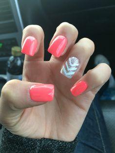 I love my Pink acrylic nails