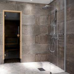 Tummanpuhuva kylpyhuone │ Laattapiste