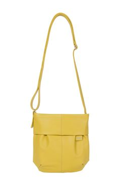 Frauentaschen :: MADEMOISELLE :: M5 | ZWEI Taschen Handtasche :: gelb :: lederfrei