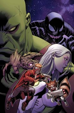 GUARDIANS OF THE GALAXY #17 - BRIAN MICHAEL BENDIS, Ed McGuinness / GUARDIANS OF THE GALAXY ARTIST VARIANT ALSO AVAILABLE