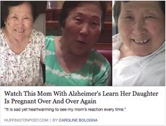 So happy and so sad at the same time! #JamesMDavisLawOfficewwwDavisNVLaw.comhttp://www.huffingtonpost.com/entry/watch-this-mom-with-alzheimers-learn-her-daughter-is-pregnant-over-and-over-again_us_59345265e4b02478cb9ca4cf?section=us_parents