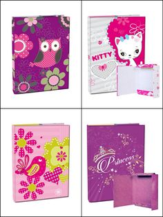 Boxes for school notebooks/ Boxy na sešity School Notebooks, Boxes, Kitty, Design, Little Kitty, Crates, Kitty Cats, Box, Kitten