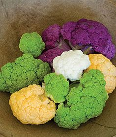 Colored Mix Cauliflower