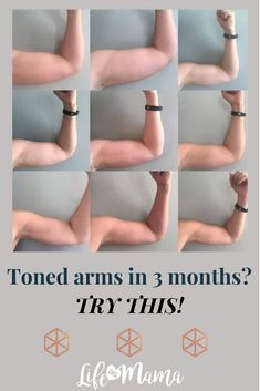 Do you have just 12 minutes a day, 4x a week? You do if you want to get the tight, toned arms you've always dreamed of! This simple yet effective workout works, and I'm proof! #LifeAsMama #tonedarms #armexercises #armflab #flabtofit