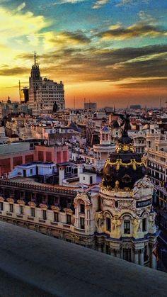 Madrid vintage by Martin De Saints on 500px