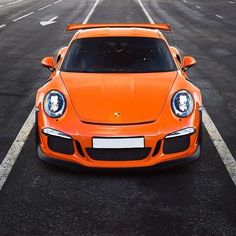 Perfection.  Photo from @porschepassion_ just a good looking car!! 📷: @IvanOrlov 🚗: #Porsche #911 #991 #GT3RS #Porsche911 #911991 #911GT3RS #991GT3RS #Orange #Wing #GT #Racecar #gt3