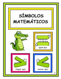 Risultati immagini per mayor y menor que 1st Grade Math, Kindergarten Math, Teaching Math, Classroom Crafts, Classroom Activities, Math Worksheets, Math Resources, Elementary Teacher, Elementary Schools