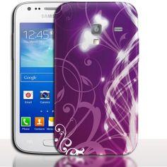 Coque Samsung Galaxy ACE 2 Floral Campanula. #Campanula #Fleurs #i8160 #coquedetelephone #SamsungGalaxy