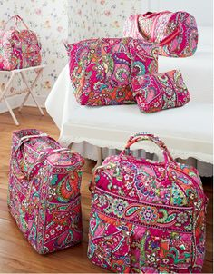 The new Pink Swirls color helps raise awareness for the Vera Bradley Foundation for Breast Cancer.