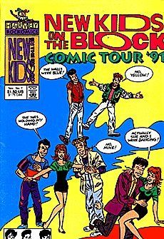 New Kids On The Block Comics Tour '90/91 (1990 series) #7 by Harvey Comics