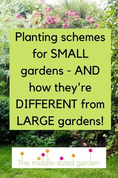 Border planting ideas for small gardens- how to choose the plants and combinations that will make your garden look gorgeous. Cottage Garden Design, Cottage Garden Plants, Big Garden, Small Garden Design, Purple Garden, Garden Spaces, Tropical Garden, Dream Garden, Delphinium