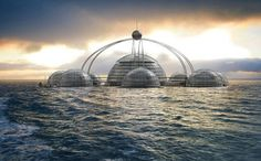 Self-Sufficient Sub-Biosphere 2 Houses 100 People Under the Sea