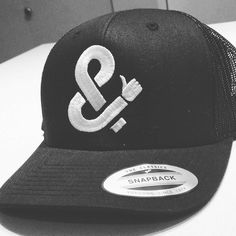 My friend Gerard T surprised me with a hat embroidered with my logo illustration. Super cool gift! #hats #snapback #design #graphicdesign