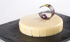 WHITE CHOCOLATE ENTREMET...... by Pastry Chef Antonio Bachour, via Flickr