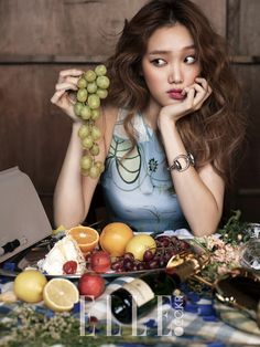 LEE SUNG KYUNG   YG FAMILY x SHARE HAPPINESS CAMPAIGN x ELLE MAGAZINE DECEMBER '14 ISSUE