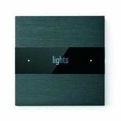 Basalte Deseo roomcontroller/Brushed Dark Grey Dark Grey, Lights, Lighting, Rope Lighting, Candles, Lanterns, Lamps, String Lights