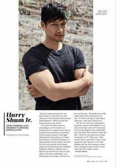 Harry Shum Jr. about why he wanted to play Magnud Bane in The Mortal Instruments (TV-show)