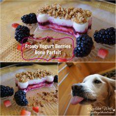 Frosty Yogurt Berries Bone Parfait (sugarthegoldenretriever.com)
