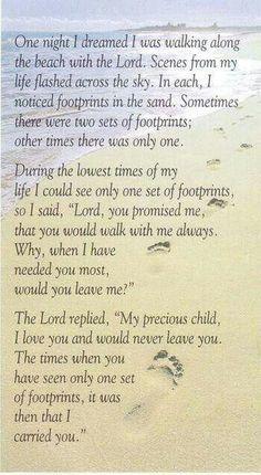 Walking With Jesus!