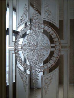 Квартира на Английской набережной – изготовление витражей | Арт-Гласс - изготовление витражей