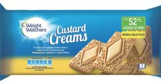 12 delicious custard creams with a crisp biscuit containing real madagascan vanilla a& a cream filling Resealable pack 1 POINT Plus Value per biscuit Exp. 11.2016
