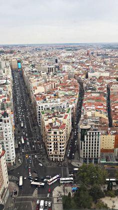 Torre de Madrid, Piso 32 Plaza de España, Madrid Madrid Travel, Barcelona Travel, Madrid Barcelona, Madrid Wallpaper, Foto Madrid, Italy Spain, Spain Travel, Aerial View, Valencia