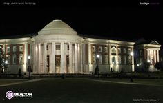 Beacon Products lights up Shelby Hall at The University of Alabama