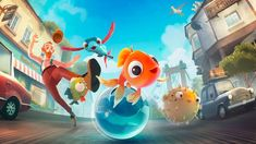 I Am Fish, Gold Fish, Review, NoobFeed Video Game Reviews, Latest Video Games, Goldfish, Xbox, Outdoor Decor, Common Carp, Xbox Controller