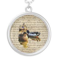 vintage paper pendant