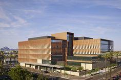 University of Arizona Cancer Center at Dignity Health St Joseph's Hospital by @ZGFArchitects