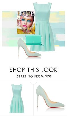 """""""Spring Fashion"""" by kotnourka ❤ liked on Polyvore featuring Kate Spade and Christian Louboutin"""