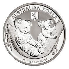 Koala silver coin mintage 2011 - now official statement of the Perth Mint on the table...