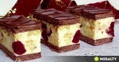 Archívy Zákusky - Page 18 of 78 - Receptik. My Recipes, Sweet Recipes, Cookie Recipes, Dessert Recipes, Hungarian Desserts, Hungarian Recipes, Cherry Desserts, Croatian Recipes, Just Eat It