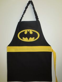 Batman CHILD Apron by PIPandFINN on Etsy
