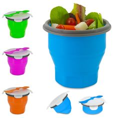 Collapsible Soup & Salad Bowl