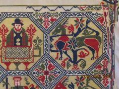 Moomin, Armenia, Bohemian Rug, Rugs, Decor, Tapestries, Punto De Cruz, Dots, Painted Canvas