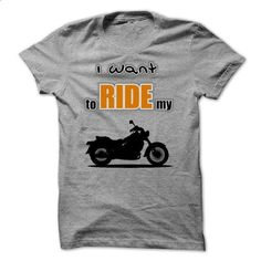 i want to ride my motorbike - #pink shirt #oversized sweater. I WANT THIS => https://www.sunfrog.com/Sports/i-want-to-ride-my-motorbike.html?68278