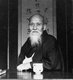 Morihei Ueshiba Dojo Art Collection Sales Page