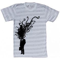 Dark Cycle Clothing: Corporate Man Explosion Tee