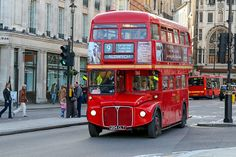 You can also use your Oyster Card to take a traditional red double-decker bus in #London http://www.nyhabitat.com/blog/2013/01/07/money-saving-tips-family-trip-london/